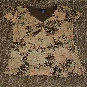 Jones Wear Printed Blouse